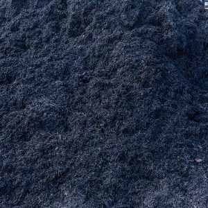 Satin Black Pine mulch