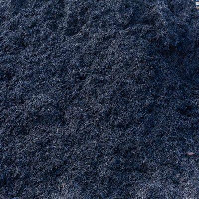 Satin Black Pine mulch