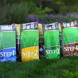 Scotts 4-Step Lawn Care Fertilizer Program